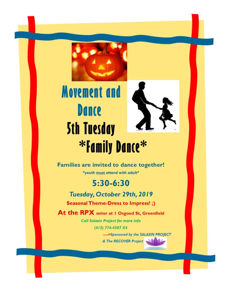 Family Dance Flyer-Halloween 2019